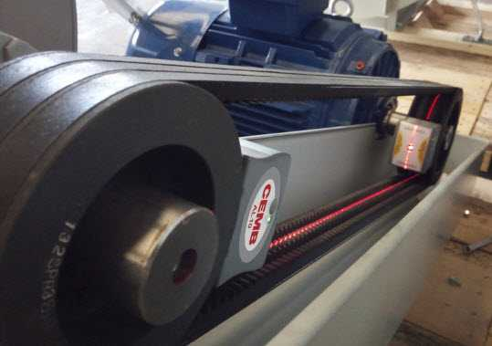 Laser Belt Alignment System AL10 Cemb