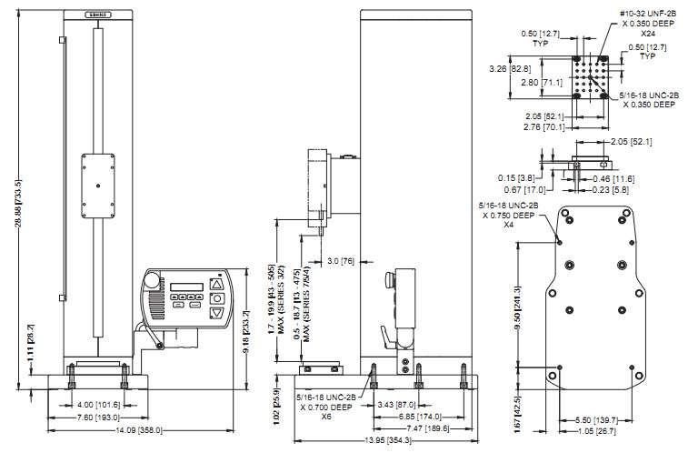 Máy đo lực ESM303 Mark-10
