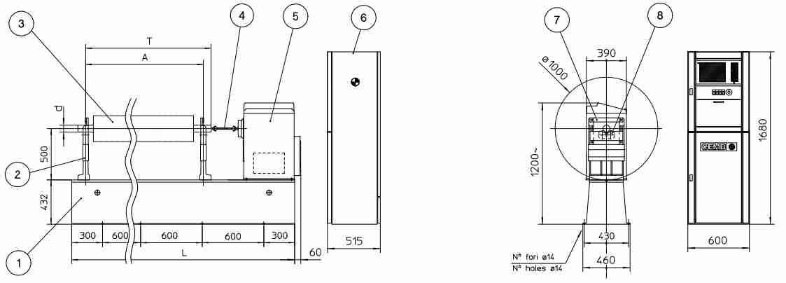 Máy phân tích và cân bằng động | Cemb