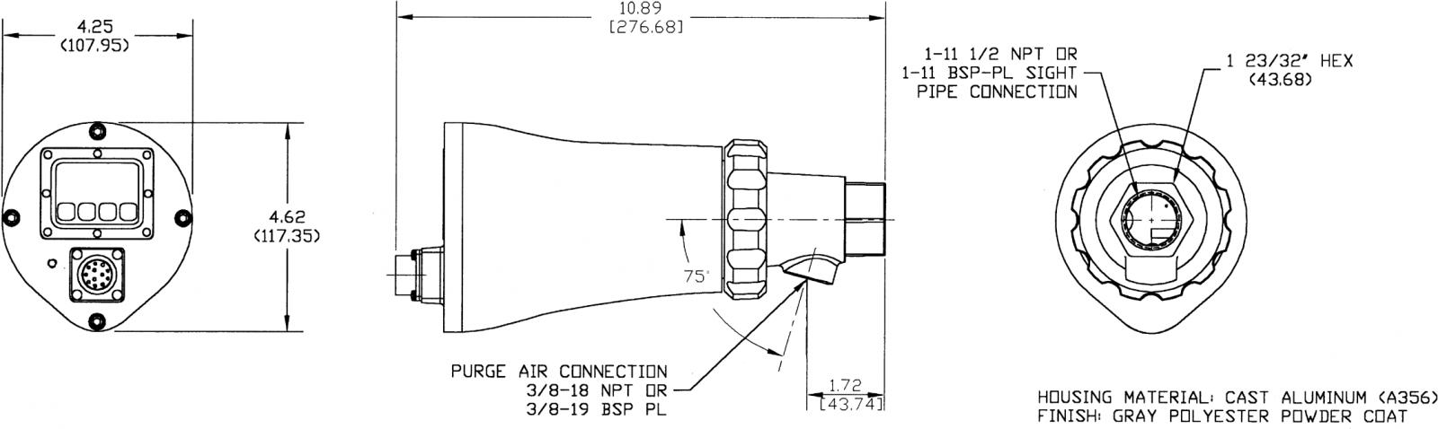 Thiết bị phát hiện ngọn lửa 95IR, 95UV, 95DS Fireye - Cảm biến ngọn lửa Fireye