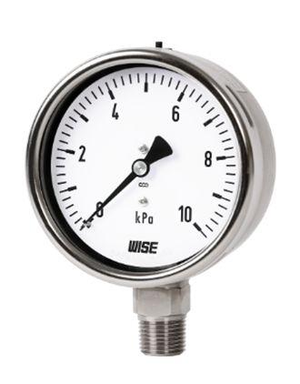 Đồng hồ đo áp suất âm P423 Wise - Wise Vietnam
