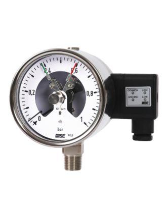 Đồng hồ đo áp suất có tiếp điểm điện P520 Wise - Wise VietNam