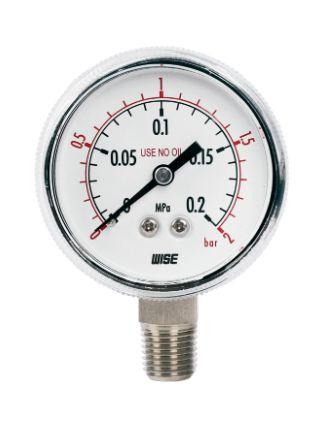 Đồng hồ đo áp suất P113 Wise - Wise Vietnam