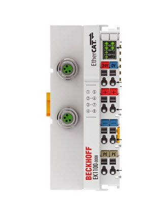 EK1100-0008 Beckhoff | EtherCAT Coupler with M8 connection