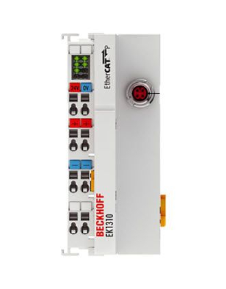 EK1310 Beckhoff | 1-port EtherCAT P extension with feed-in