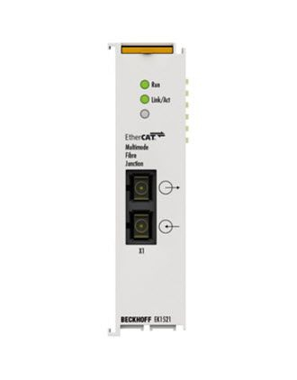 EK1521 Beckhoff | 1-port EtherCAT fibre optic junction