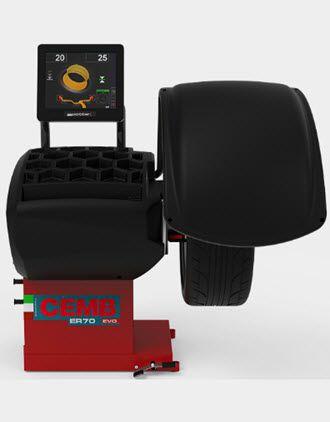 Máy cân bằng lốp ô tô ER70 EVO Cemb