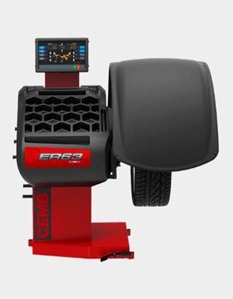 Máy cân bằng lốp xe ô tô ER63 Cemb
