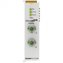 EK1122-0008 Beckhoff | 2-port EtherCAT junction with M8 connection