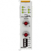 EK1322 Beckhoff | 2-port EtherCAT P junction with feed-in