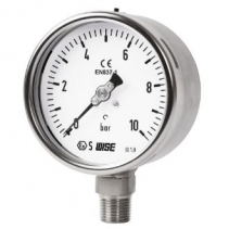 P257 Wise Vietnam - Đồng hồ đo áp suất có dầu Wise