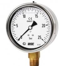 P259 Wise VietNam - Đồng hồ đo áp suất có dầu Wise Control